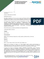 ALLEGAR INFOMACION CON MENBRETE POLICIA FISCALIA