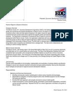 EDC Warren County -  President Job Profile Final 2011
