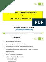 Presentacion Teorias Administrativas y Estilos Gerenciales