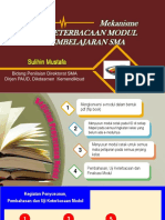 Pengembangan dan Uji Keterbacaan Modul