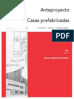 ANTEPROYECTO CASAS PREFABRICADAS - FRANCISCO J. SERRANO