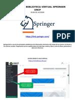 Guia biblioteca virtual Springer