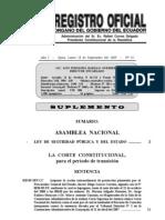 ley de seguirdad pública y del estado