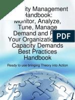 Capacity Management Workbook