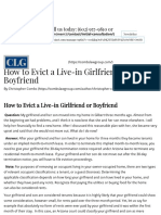How to Evict a Live-in Girlfriend or Boyfriend - Combs Law Group, P.C_