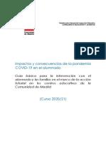 Impactos y consecuencias de la pandemia y el confinamiento - Luengo