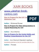 Cat Exam Pdf