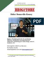 Interrog@atoire Didier Bonneville-Roussy