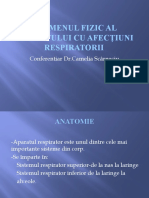 Examenul Fizic Al Pacientului Cu Afecţiuni Respiratorii
