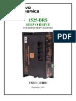 SERVO DRIVER 1525brs_manual