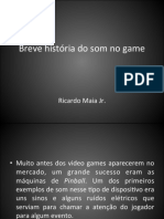 Breve história do som no game
