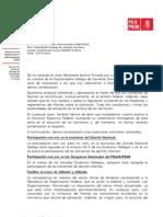 Contestación do Secretario de Organización do PSdeG a Esquerda Socialista