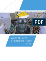 World Nuclear Performance Report 2018
