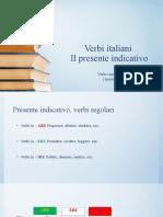 PRESENTE DEI Verbi italiani.pptx