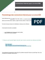 KB21172-Paramétrage connexion internet pour envoi EDI