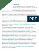 EL ARTE DE AUTOCUIDARSE – Blog de Psicología