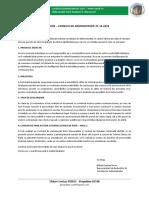 INFORMARE - CONSILIU DE ADMINISTRAȚIE 21.10.2020