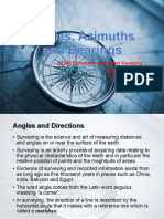 CE120-02 Angles, Azimuths, and Bearings