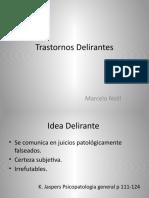 Trastornos Delirantes PP19 (1)