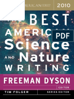 Best American Science and Nature Writing 2010 Excerpt