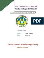 Tugas Resume Perbedaan PP No. 25 Tahun 2005 dan PP No. 71 Tahun 2010