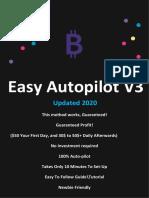 Free Easy Bitcoin Method minimum 50$/day