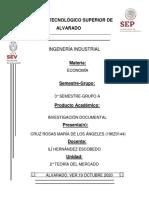 INVESTIGACIÓN TEORÍA DEL MERCADO