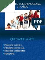 DESARROLLO SOCIO-EMOCIONAL 3-7 años