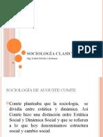 SOCIOLOGÍA CLASICA - CLASE 7