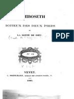 Méphiboseth Boiteux Des Deux Pieds - La Bonté de Dieu- Charles Stanley