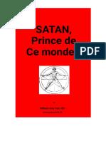 Satan Prince de Ce Monde
