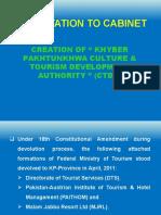 Cabinet Presentation Pta