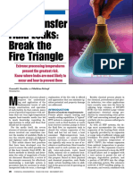 Fire in Thermal Fluid Systems