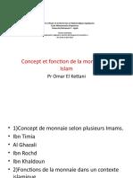 3)la théorie  de la monnaie en Islam