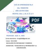 Guía Didáctica Tic No. 4 PDF