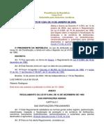 2. DECRETO Nº 4.954, DE 14 DE JANEIRO DE 2004.