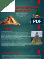 CULTURAS DE LA LITERATURA PREHISPÁNICA