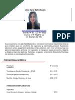 Daniela María Ballén García hv