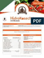 hidrokosecha