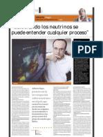 Alberto Gago (doctor en Física de neutrinos), PuntoEdu. 16/05/2005