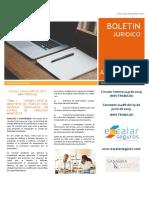 BOLETIN JURIDICO 1