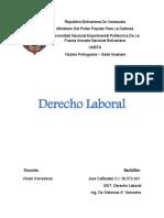 Derecho Laboral. Jose Cañizalez