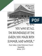 Newsletter Winter 11