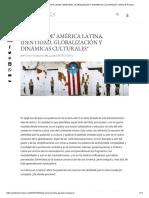 1. Mosquera_Arte 'desde' América Latina. Identidad, globalización y dinámicas culturales