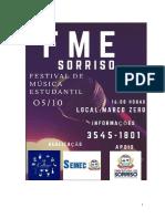 REGULAMENTO FME SORRISO -2019