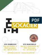 catalogue profilé