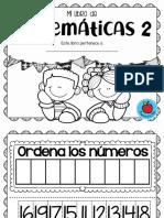 MI LIBRO DE  MATEMÃ-TCAS 2