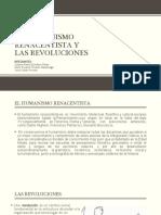 El humanismo renacentista y las revoluciones