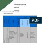 Matriz Identificacion de peligros valoracion de riesgos y determinacion de controles