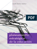 Para un planeamiento estrategico de la educación. Elementos conceptuales y metodológicos.pdf